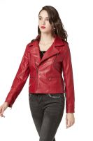 Faux Leather Pu Jacket for