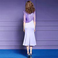The OL slim fishtail skirt is a new spring and summer fashion girl temperament MIDI skirt
