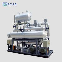 electric thermal oil heater for heating reaction kettle in chemical in