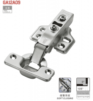 Hydraulic cabinet hinge for furniture
