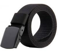 leather, nylon, canvas, elastic belts