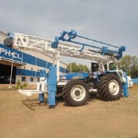 Bore Hole Drill Rig - Mounted On Tractor