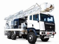 Borewell Drilling Truck, New Tube Well