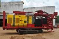 Borehole Crawler Water Well Drilling Rig