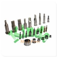 High precision various customized punch mold parts in different shapes and materials, special shaped punches and dies for automotive parts