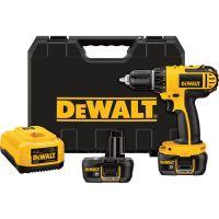 DEWALT Compact Cordless Drill/Driver Kit � 18 Volt, 1/2in., Model# DCD760KL