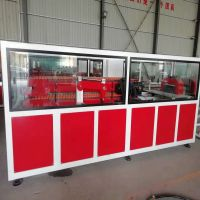 SJSZ-51conical Twin Screw Plastic-Steel Door & Window Production Line