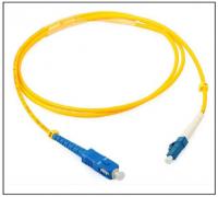SC to LC/SC Single-mode Simplex Fiber Optic Patch Cord