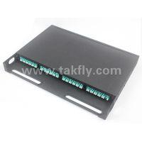 1U 96 Core MPO Rack Mount Patch Panel with MPO Cassette