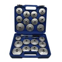 Universal Oil Cap Filter Wrench Removal Puller Tools Kit 23pcs
