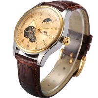 2019 5 ATM Stainless steel mechanical automatic men watch