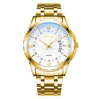 Mens stainless steel quartz business luxury watches cheapest watch custom