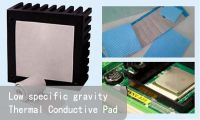 Low Specific Gravity Thermal Conductive Silicone Pad