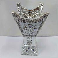 Factory Direct Sales DT-016L Polyresin Incense Burner Silver