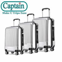 3PCS ABS TROLLEY LUGGAGE SET SUITCASE TRAVEL PLASTIC HARD SHELL LUGGAGE