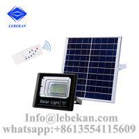 Cheap price energy saving 10w 20w 30w 40w 50w 60w 100w solar flood light