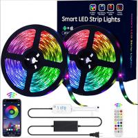 Bluetooth app control rgb led strip lights 5050