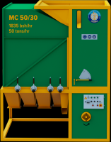 Grain cleaner MC 50/30