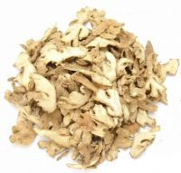 high quality dried ginger split