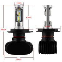 S1 Car LED Headlight Bulb Kit 30W 6000lm Auto Lamp H4 HB2 9003 Hi Lo Beam