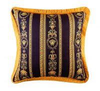 50cm Baroque Brand Medusa Designer Velvet Decorative Pillow Covers