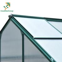 GSG Outdoor Walk-In Polycarbonate Aluminum Greenhouse with Aluminum Frame