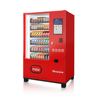 Touch screen Drink vending machine with refrigeration