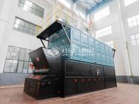 SZL 4ton biomass-fired chain grate stoker steam boiler