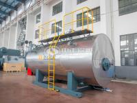 غلايات بخار مراجل بخار تعمل على الزيت بالزيت أو الغاز الغاز الطبيعي صناعي لتدفئة مركزية مصنعة من الصين WNS ton3