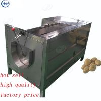 High efficiency carrot potato washing peeling machine