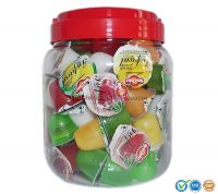 New Choice Tropical flavor mini fruity gels (1000g/jar)