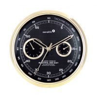 Multifunctional Arch Cover Car Dashboard Round  Metal Wall Clock