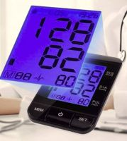 Digital Wirst Blood Pressure Monitor with Large LCD and Backlight (CE/FDA approve)