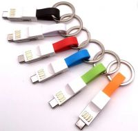 3 in 1 Mobile Phone Cable (Charging+Data Transfering)    TTLT000114