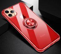 Mobile Phone  Shell + Magnetic Car Ring Holder (for Apple IPhone)             TTLTSH007