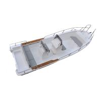 Liya 7.6m fiberglass fishing boat panga boat for sale