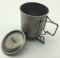 Ultralight Portable Titanium Camping Cup