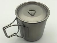 Ultralight Portable Titanium Camping Cup