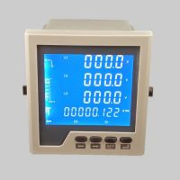 Embedded LCD multi-function digital power meter with RS485