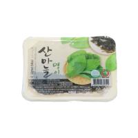 Tray Sanmaneul Myeong-yi (Mountain Garlic Leaf) 95g - Dokdo Trade