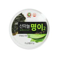 Canned Sanmaneul Myeong-yi (Mountain Garlic Leaf, alpine leek, victory onion) 175g - Dokdo Trade
