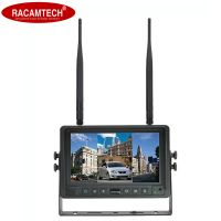 """7"""" 2.4G Digital Wireless Quad-View LED Monitor for Car/Bus/Truck/Heavy Vehicle"""