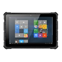 Quad-core 1.44GHz 10.1inch windows10 Rugged Tablet PC Rugged Laptop with 2D Barcode Scanner GPS IPS 1200*1920 Fingerprint