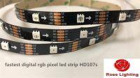 Fastest RGB Pixel LED Strip HD107s 30pixels 60pixels 144 Pixels Per Me