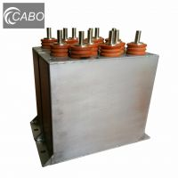 High voltage pulse capacitor for cable fault location