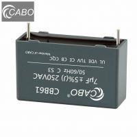 CABO AC motor run capacitors CBB61 series//CE, CQC, VDE, CB, TUV