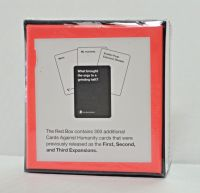 Red Box Expansion Cards Against Humanity BRAND NEW Factory Sealed