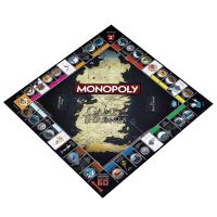 Game of Thrones Monopoly Board Game Party Home Game Fun Game Collector's Edition