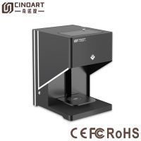 edible food printer coffee 3D printer machine for coffee cake