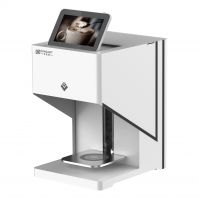 latte art coffee printer 3D coffee printer for coffee cookies